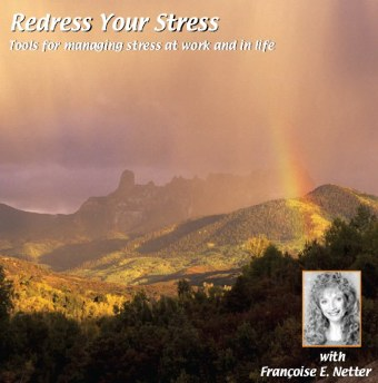 Redress Your Stress CD by Francoise Netter